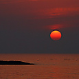 浜田の夕日